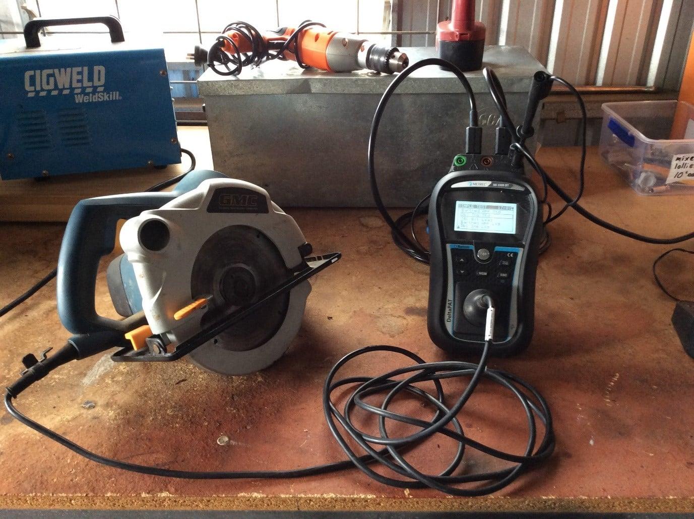 power tool testing
