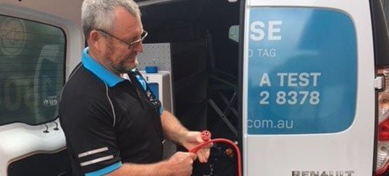 extension lead testing