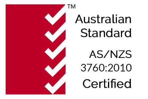 australian standard as nzs 3760 certified