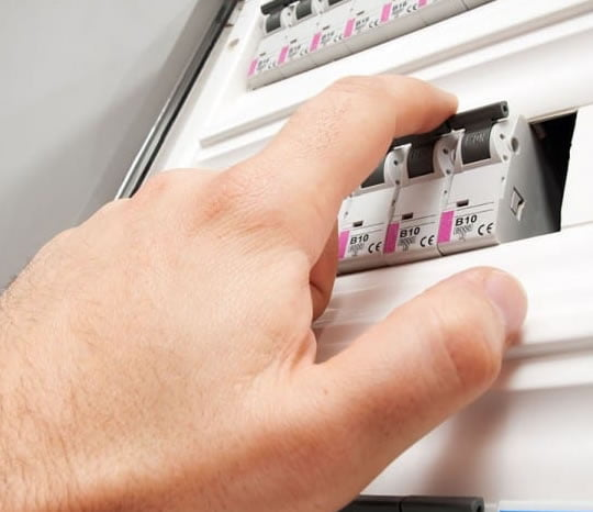 turning off a safety switch